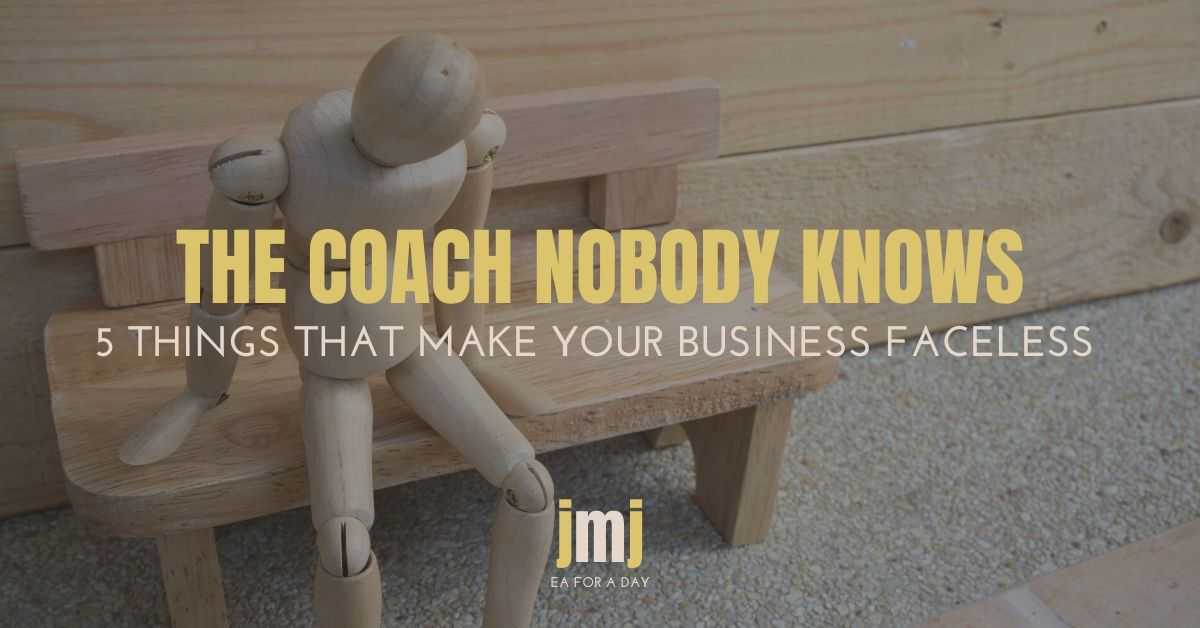 the coach nobody knows blog image